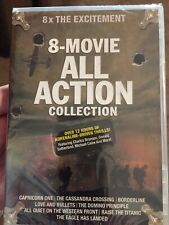 8-Movie All Action Collection, Capricorn One, The Cassandra Crossing, etc