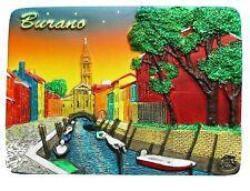 Refrigerator Fridge magnet VENICE BURANO ITALY night gift/souvenir 3D design