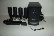 Dell 5.1-Ch Surround Sound PC Speakers w/Subwoofer + Satellites MMS 5650 J2523