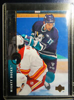 1994-95 Upper Deck #105 Anatoli Semenov Ducks Hockey Error Wrong Name Card
