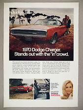 Dodge Charger PRINT AD - 1969 ~ 1970 model