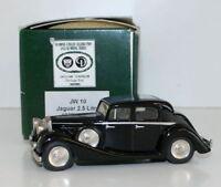 Milstone Miniatures 1/43 Scale  JW10 - 1937 Jaguar 2.5 Litre Saloon - Black