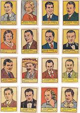 Colección completa cromos ALBUM ESTRELLAS DE CINE ( nº 3 ) 1941 Ed. Valenciana