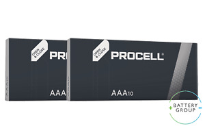 Duracell Industrial NOW Procell AAA Batteries Industrial Use Alkaline (20 Pack)