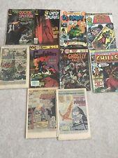 Bronze Age Lot Of 10 Mixed Comics Dc, Marvel, Gold Key, Charlton