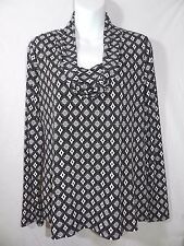 WOMENS long sleeved SHIRT top BLOUSE = EAST 5th = MEDIUM = ym66