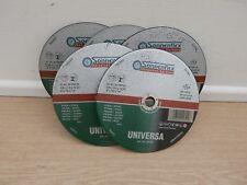 5 X 230mm x 3mm  SONNENFLEX UNIVERSAL CUTTING ANGLE GRINDER DISCS