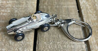 Schuco Piccolo 703 (Germany) Chrome Mercedes 2.5 Coupe Diecast Key Chain 1:90