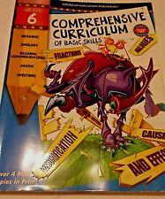 Comprehensive Curriculum of Basic Skills,Grade 6 copy right 2001 ISBN1561893730
