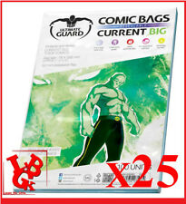 Pochettes Protection CURRENT Size BIG REFERMABLES comics VO x 25 Ultimate #NEUF#