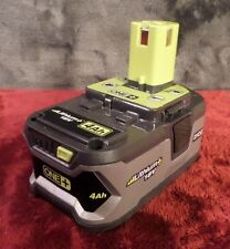 Ryobi P108 18-Volt 4.0Ah High Capacity Lithium Ion Battery Used #760