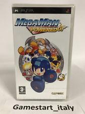 MEGAMAN POWERED UP - SONY PSP - NUOVO SIGILLATO NEW SEALED PAL VERSION MEGA MAN
