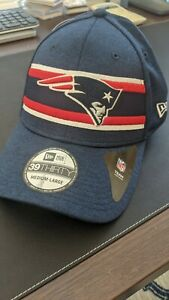 New England Patriots Hat New Era 39Thirty Size Medium-Large M/L Fitted Cap NWT