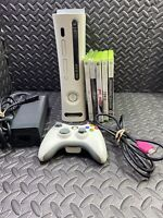 Xbox 360 60GB console bundle with 5 games & 1 Official Wireless Controller