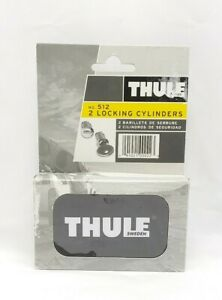 Thule No. 512 2 Locking Cylinders With Keys And Storage Tin New And Sealed