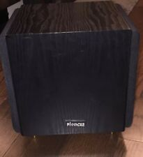 """Used Pinnacle Baby Boomer Dual 8"""" 600W Bipole Powered Subwoofer-Works Fine !!"""