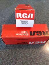 Lot of 2 NIB VACUUM TUBES PAIR RCA 7868 NOS BOXED