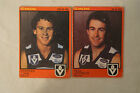 Geelong - 1982 - 2 x Scanlens Football Cards - S.Lunn, P.Jeffreys.