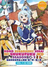 KonoSuba – God's blessing on this wonderful world!! Season 1 + 2 ANIME DVD