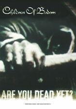 "CHILDREN OF BODOM FLAGGE / FAHNE ""ARE YOU DEAD YET"""