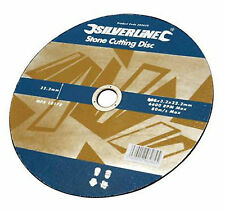 """5 pack stone cutting discs flat 115mm [ 41/2"""" ] angle grinder [ 199875 ]"""