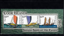 Cook Islands 2013 MNH Sailing Ships of Pacific 3v M/S Boats Pahi Tipaerua