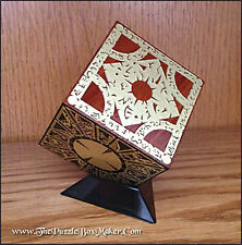 Hellraiser Puzzle Box, Etched Brass and Mahogany - Lament Configuration