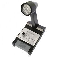 Zetagi mb +4 Cb Base Station Micrófono Mic enchufe del aparato Y Batería Con Cable Para Usted