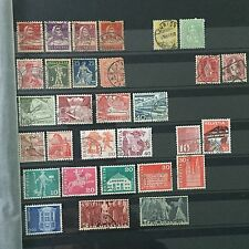 #294 Switzerland mixed postal stamps from collection Helvetia