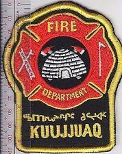 First Nation Firemen Canada, Kuujjuaq Inuit Fire Department Northern Quebec