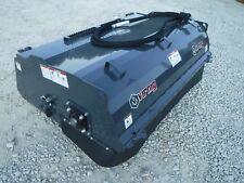 "Bobcat Skid Steer Attachment - 72"" Virnig Pick Up Box Sweeper Broom - Ship $199"