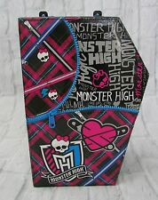 Monster High Doll Clothing Carrying Case Box Box Coffin Shape