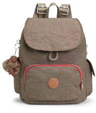 kipling City Pack S Backpack True Beige Combo