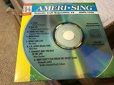AMERI SING KARAOKE CD+G FEMALE SOFT SUPERHITS #2 CD AMS-1050  SEALED
