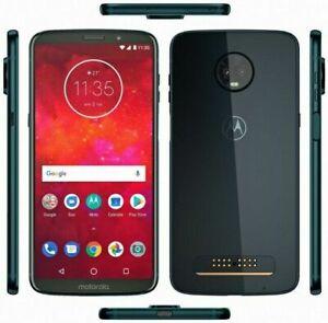 Motorola Moto Z3 XT1929-17 4Go 64Go Téléphone Verzion Débloqué Smarphone Noir