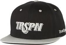 True SPIN Team trspn BLACK Snapback Cap da Uomo Nuovo TRUESPIN taglia unica