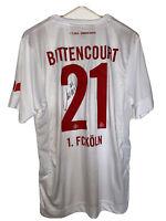 Trikot 1.FC Köln 2017/18 Leonardo Bittencourt -original handsigniert-