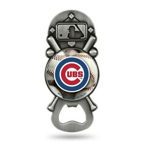 Chicago Cubs Party Starter Magnetic Metal Bottle Opener (NEW) MLB Drink Bar