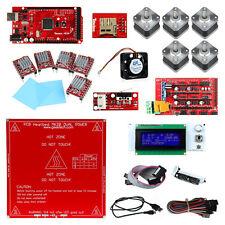 Ramps1.4 Mega2560 A4988 LCD 2004 MK2B 3D Printer Controller Kit For RepRap