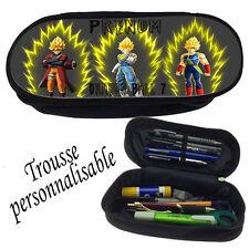 Trousse à crayons DRAGON BALL Z  V1 personnalisée avec prénom