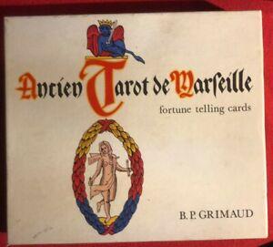 Ancien Tarot de Marseille B P Grimaud