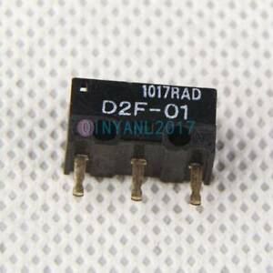 1Pcs Omron D2F-01 Micro Switch New