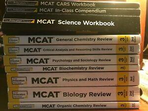 MCAT - Princeton Review - 3rd ed - 7 books + 4 workbooks