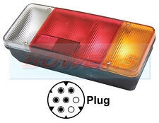 IVECO DAILY TIPPER 96 -  06 REAR TAIL LIGHT LAMP UNIT RIGHT HAND R/H RH OFFSIDE