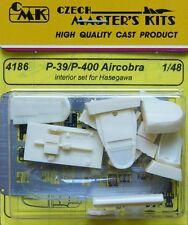 CMK 1/48 P-39/P-400 Airacobra INTERIORE Set per Hasegawa #4186