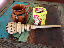 Classic Wooden Whisk Stirrer Mexican Cocoa Molinillo Chocolate Kitchen Utensils