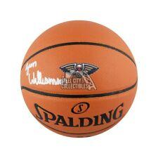 Zion Williamson Autographed Pelicans Logo Spalding Basketball - Fanatics