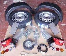 "750kg Unbraked trailer diy parts kit-Avonride suspension units,13 ""wheel"