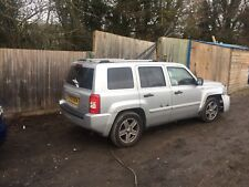Jeep PATRIOT MK74 2.0 CRD 6 Vitesse Manuelle Argent Breaking spare parts