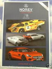 NOREV 70TH ANNIVERSARY MODEL CATALOGUE 2015 RANGE A3 (20x14cm) 132 PAGE BOOKLET